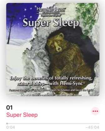 寝る前のヘミシングで眠れない